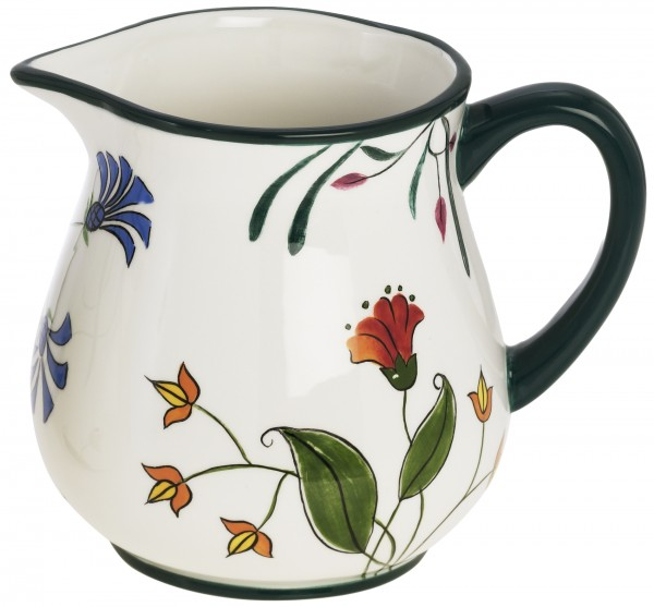 "Magu Keramik Krug 0,5 ltr. handb.""BLÜTENZAUBER"" - 124 911"