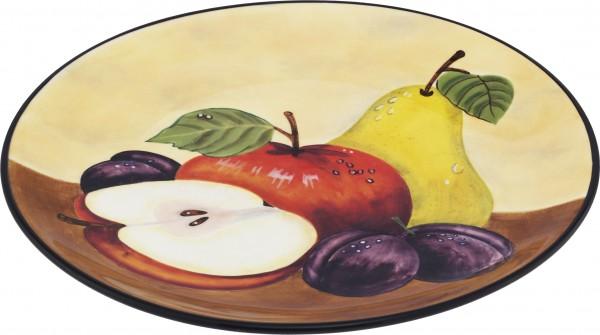 "Magu Keramik Frühstücksteller 20 handbemalt ""TOSCANA"" - 120 312"