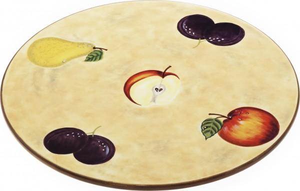 """Magu Keramik Tortenplatte 36cm handbemalt """"TOSCANA"""" - 120 264"""