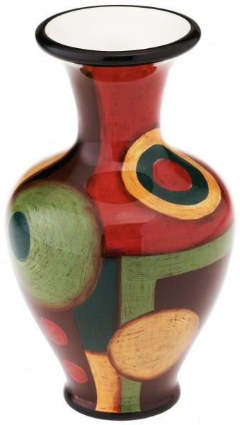 """Magu Keramik Vase 15cm handbemalt """"SAMBA"""" - 190 851"""