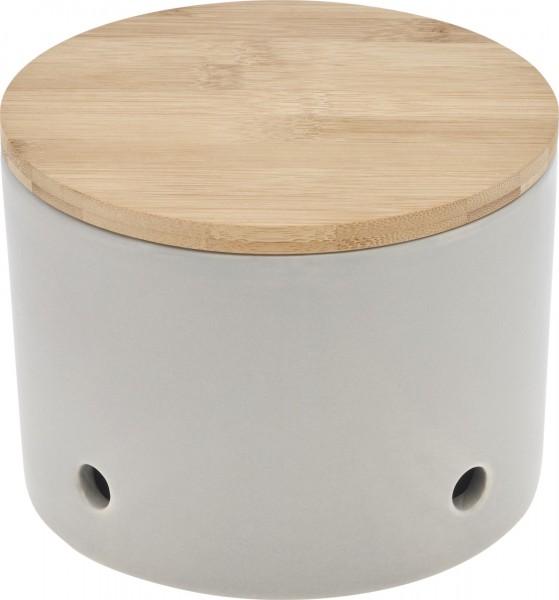 Magu Keramik Knoblauchtopf 15,5cm CERA-DESIGN Silver - 117 662