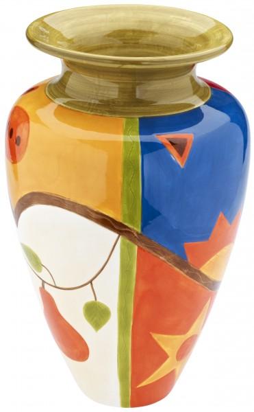 "Magu Keramik Vase 28cm handbemalt""MIDNIGHT"" - 192 854"