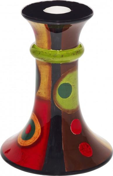 """Magu Keramik Leuchter 14cm handbemalt """"SAMBA"""" - 190 892"""