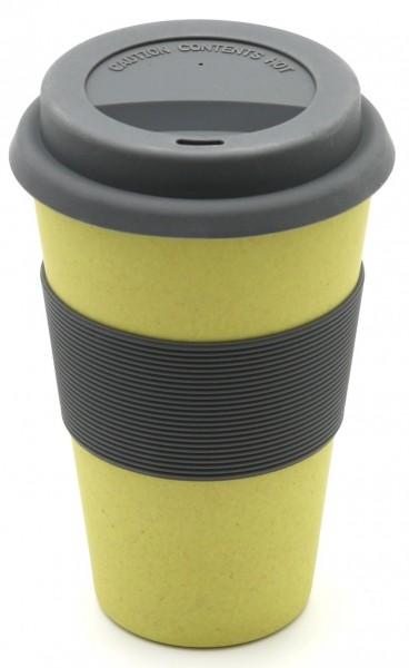 """Magu Trinkbecher """"Coffee to Go"""" """"Natur Design"""" Bambusgeschirr - 130 465"""