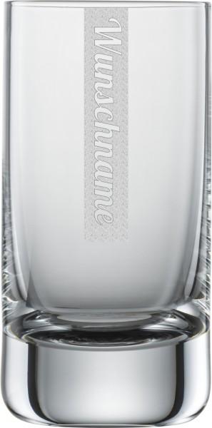 Schnapsglas mit Gravur 1 Stück | 5cl Schott Zwiesel Convention Nr. 35 Glas