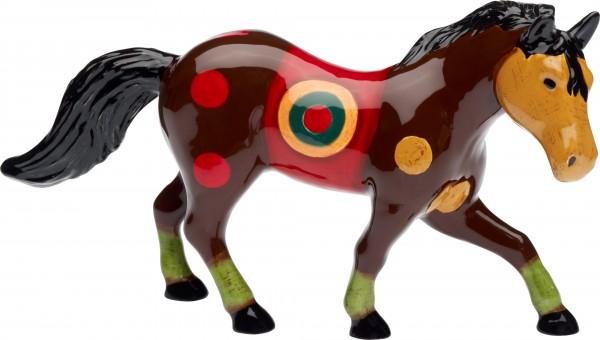 """Magu Keramik Pferd 24cm handbemalt """"SAMBA"""" - 190 966"""