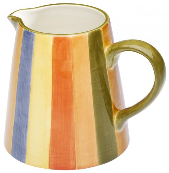 """Magu Keramik Krug 1,0 ltr. handbem. """"KARNEVALE - 118 912"""