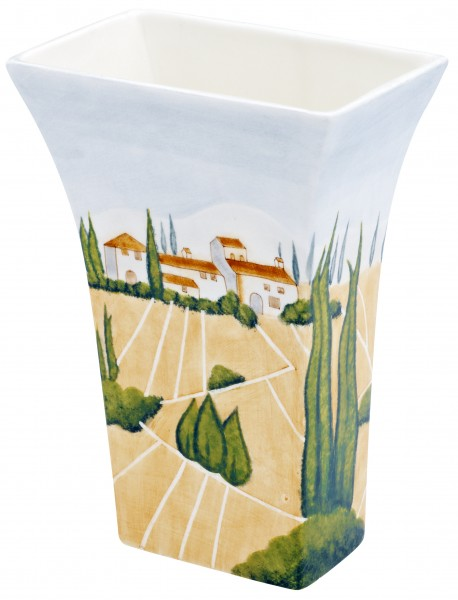 "Magu Keramik Vase 25cm handbemalt ""SIENA"" - 125 867"