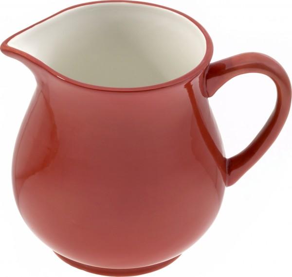 """Magu Keramik Krug 1,0 ltr. """"rot/weiß"""" - 112 912"""