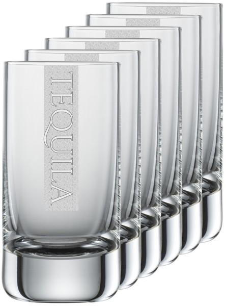 TEQUILA 6x Gläser mit Gravur | 5cl Schott Zwiesel Convention Nr. 35 Schnapsgläser