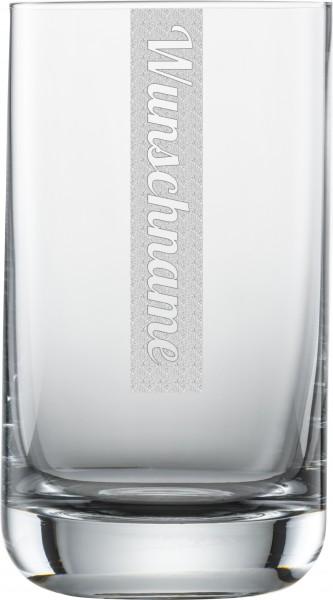 Wasserglas mit Gravur 1 Stück | 255ml Schott Zwiesel Convention Nr. 12 Glas