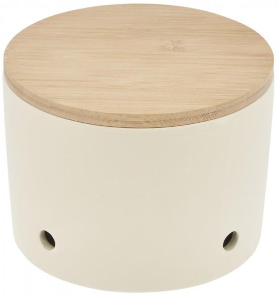Magu Keramik Knoblauchtopf 15,5cm CERA-DESIGN Urban-Grey - 115 662