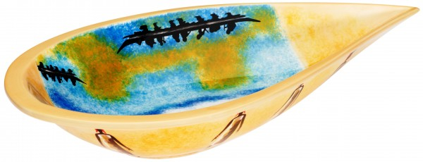 """Magu Keramik Schale oval 41cm """"AFRICAN DREAM"""" - 194 135"""