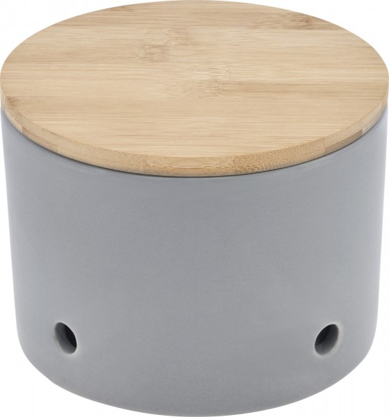 Magu Keramik Knoblauchtopf 15,5cm CERA-DESIGN Schiefer - 116 662